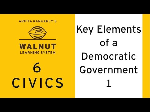 elements of democracy and constitutionalism Key democratic principles  there are four critical elements to the framework:   may occur in a representative democracy that is tempered by constitutionalism,.