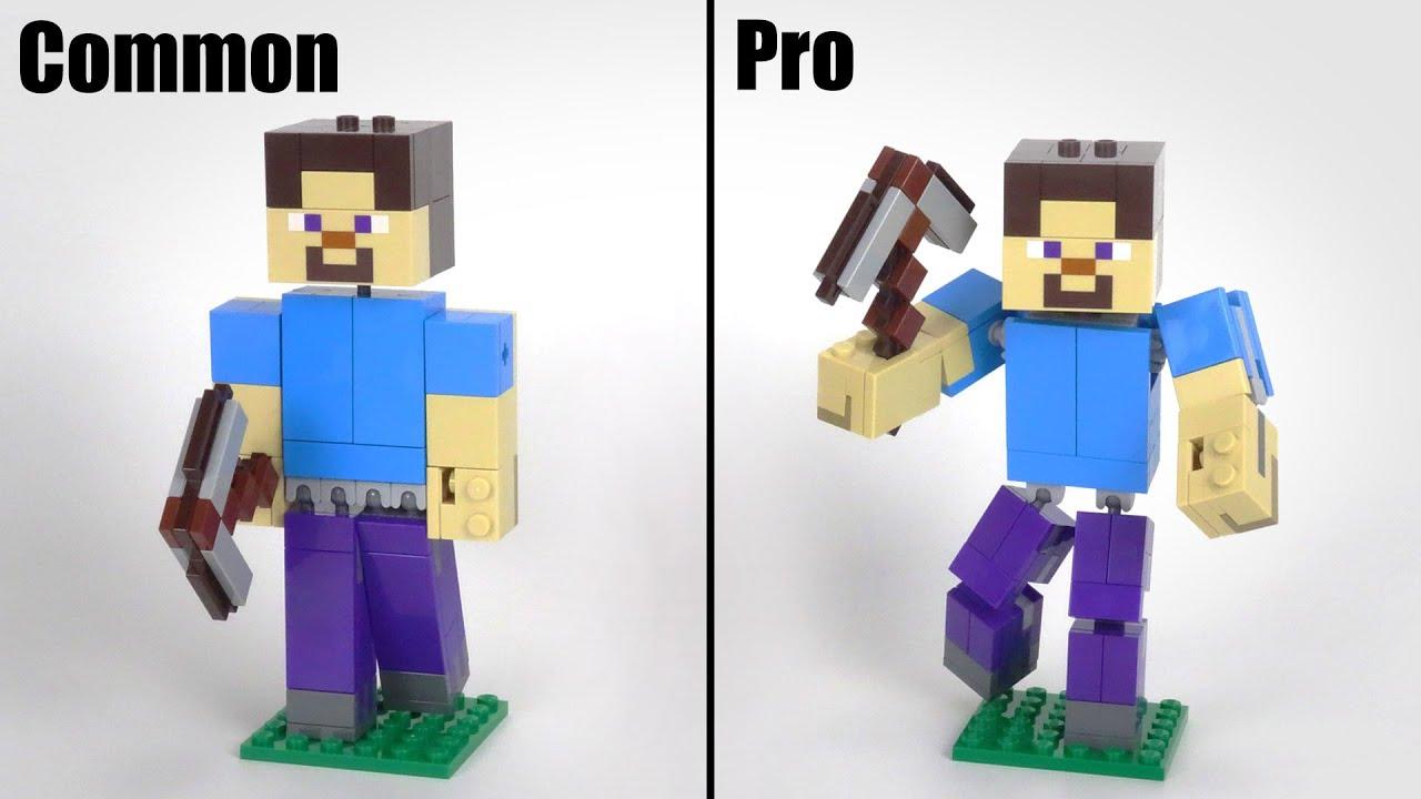 LEGO Minecraft 21148 Steve Big Figure Upgrade MOC