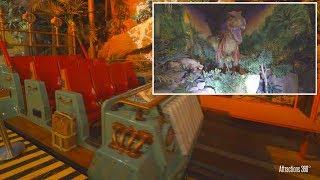 [4K] Dinosaurs Ride - Forbidden Territory - IMG Worlds of Adventure Theme Park