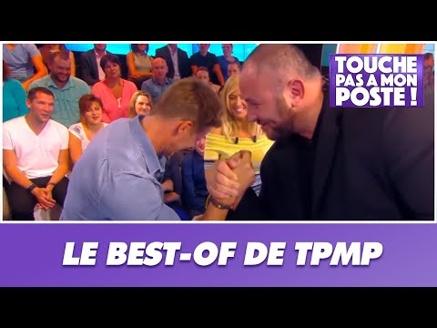 Matthieu Delormeau affronte Mokhtar au bras de fer dans TPMP
