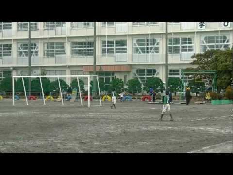 東源台FC 2011 U12 銀杏杯 3位決定戦 VS 葵 前半
