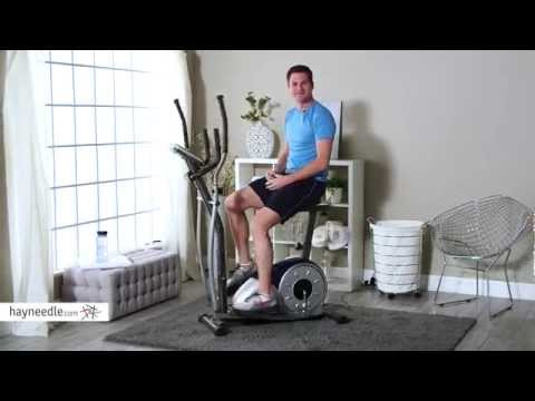 Body Champ BRM3671 Elliptical Dual Trainer with Seat - Product Review Video