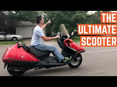 Here's Why The Honda Helix Is The BEST SCOOTER Ever Made