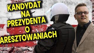 Mocny Wywiad Kandydat na Prezydenta Szykanach od Policji Strajk Przedsiębiorców