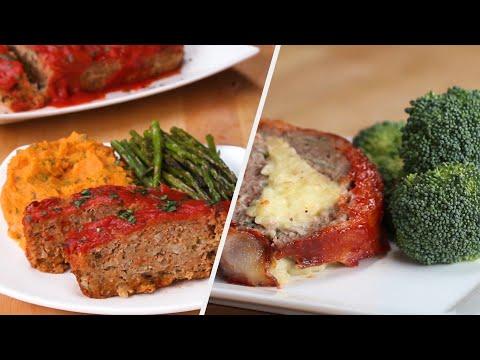 Meatloaf 4 Ways
