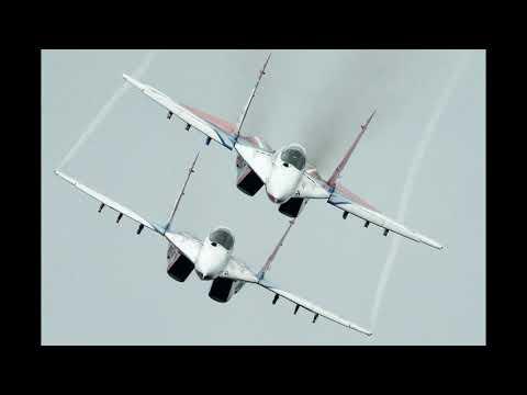 🌍 Российские истребители МиГ 29 перехватили гражданский самолёт