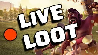 🔴 LIVE LOOT 😎 INSANE FARMING FOR TH12 || Clash Of Clans LIVE
