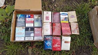 Огромная посылка с сигаретами!