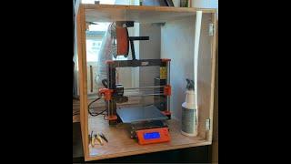 DIY 3D Printer Enclosure with Exhaust Fan