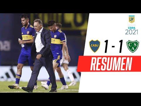 Sarmiento empató con Boca