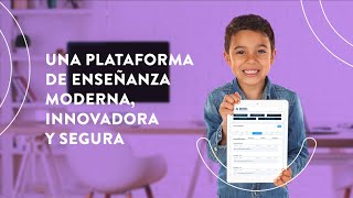 ¡Una nueva plataforma de enseñanza moderna e innovadora! Para estudiar desde donde te encuentres