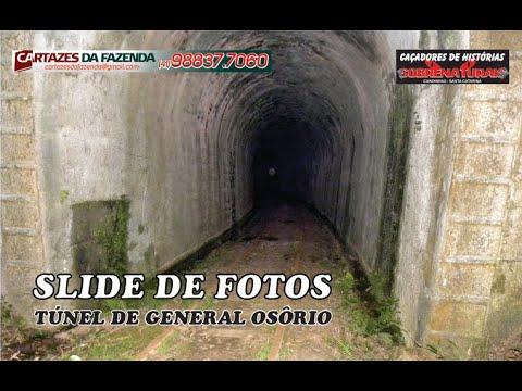 Slide de fotos da investigação TÚNEL ABANDONADO