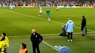 Pep Guardiola's Recation To The VAR Annoucement Manchester City Vs Tottenham Hotspur 4-17-19