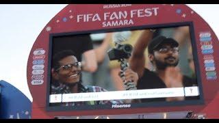 FIFA FANFEST 2018 SAMARA, RUSSIA |DSGVlogs