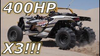 Driving a 400HP Can Am Maverick X3!!!