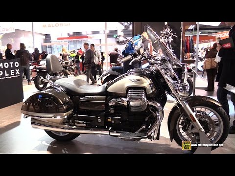 2015 Moto Guzzi California Touring SE - Walkaround - 2014 EICMA Milano Motocycle Exhibition