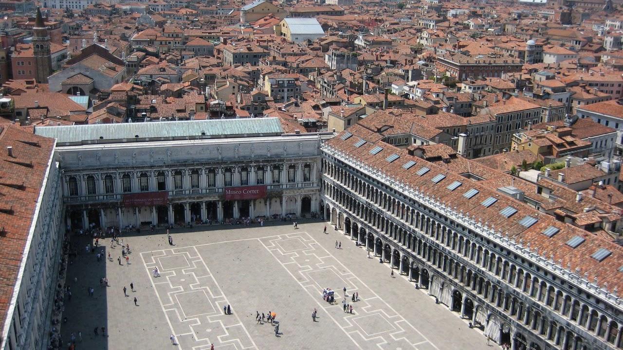 venice, square, italy, St. Mark's Square