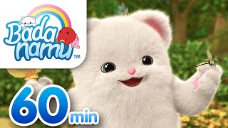 Badanamu Safari Compilation l Nursery Rhymes & Kids Songs