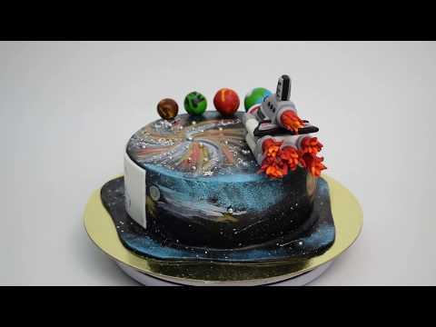 Идея торта с ракетой