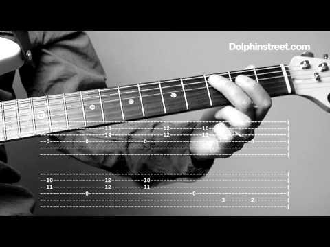 Blues Guitar Lesson - Shuffle Rhythm & Chords