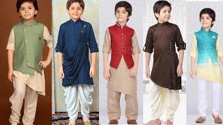 Baby Boys Kurta Pajama Dresses/Kids Shalwar Kameez Dresses Ideas 2020/Fashion World