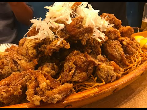 Japanese Food Karaage(Japanese fried chicken) [Chibachan] How to Go and Order in Shibuya