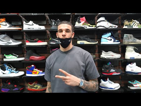 Lonzo Ball Goes Shopping For Sneakers with CoolKicks