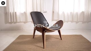 Shell Chair Hans Wegner Reproduction | Mid Century Modern Furniture