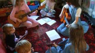 colours of day on guitar and ukulele
