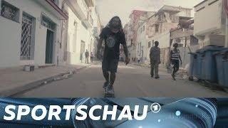 Skateboard fahren in Kuba - Rebellion auf Achsen | Sportschau