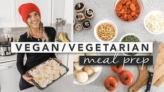 Vegan & Vegetarian Meal Prep Ideas ( Chili and Shepherds Pie )