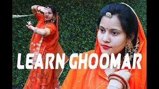 RAJASTHANI GHOOMAR BASIC DANCE MOVES   - YouTube
