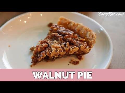 How to Make Walnut Pie