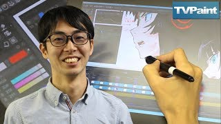How Suesawa Works With TVPaint To Make FLCL At Signal MD Studio
