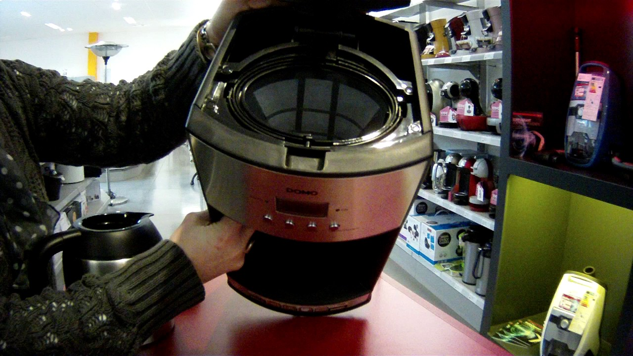 Percolateur Thermo programmable DOMO DO474K - Defitec
