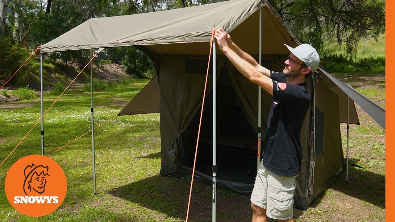 RV-3 Plus Canvas Touring Tent