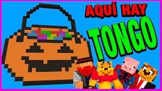 AQUÍ HAY TONGO | C/Luh, Exo Y Macu | BUILD BATTLE