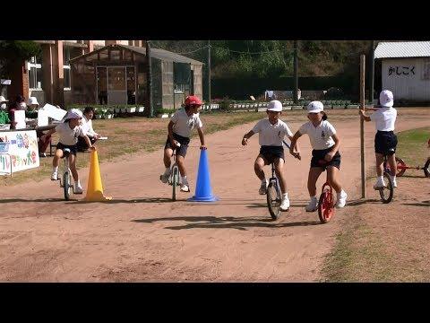 種子島の学校活動:上西小学校一輪車リレーマラソン大会ダイジェスト2019年