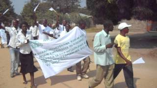 preview picture of video 'Interethnic Youth March (YC-4-No-YAG Project, Eastern DR Congo)'