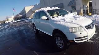 VW TOUAREG за 1500$ ОГОНЬ!