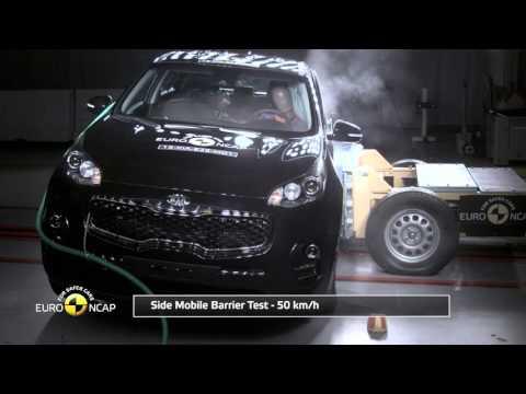 NCAP: Kia Sportage