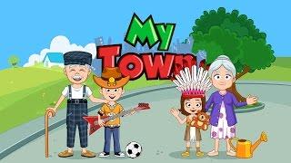 My Town Каникулы в ДЕРЕВНЕ В гостях у БАБУШКИ и ДЕДУШКИ Дети Играются Детская игра KIDS CHILDREN