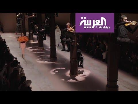 العرب اليوم - شاهد: عرض أزياء جيفنشي لربيع وصيف 2020 للخياطة الرفيعة