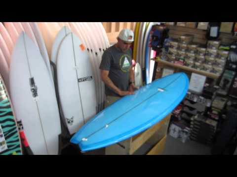 Surfboard Design Series-Modern Black Fish Surfboard