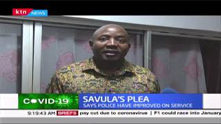 Ayub Savula\'s plea for street families during the coronavirus pandemic