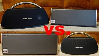 Harman Kardon GOPLAY vs. SONY SRS BTX500 - test głośników bluetooth
