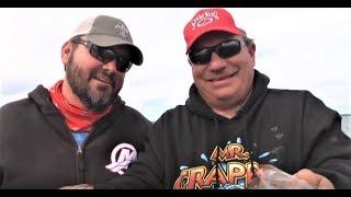 EPIC Greg Hackney & Mr Crappie  Fishing Sam Rayburn Reservoir