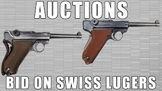 [AUCTION] Swiss Luger Model 1906 DWM Dated 1917, 7.65 Caliber Semi-Auto Pistol