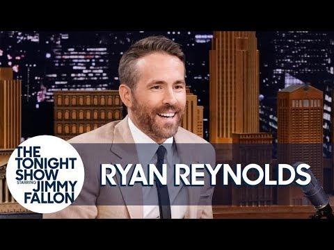 Ryan Reynolds Describes His Pikachu Method Acting Process (видео)