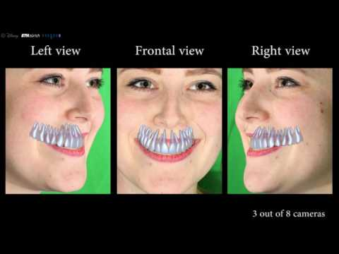 Researchers Can Create Perfect CG Dentures Using Just A Video Of Your Teeth